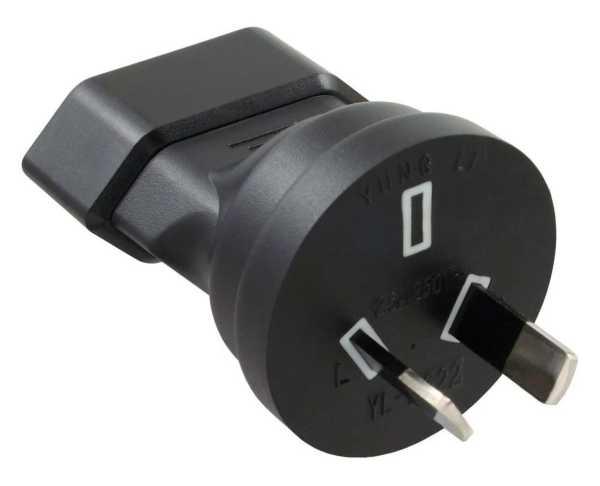 InLine Adapter Eurostecker Typ C auf Typ I