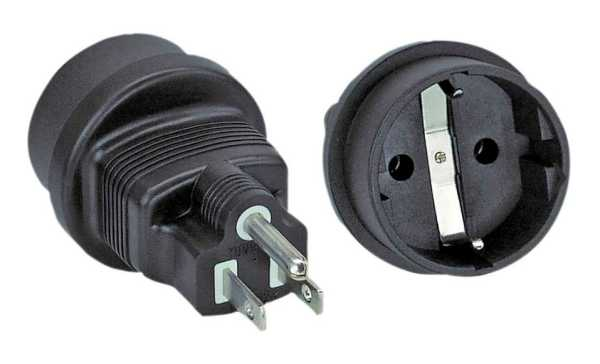 InLine Adapter Eurostecker Typ C auf Typ B