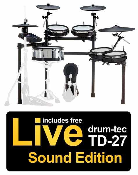 Roland TD-27KV drum-tec Edition Full Toms