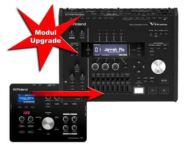 Modul Upgrade Roland TD-25 zu Roland TD-50